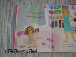 Inside Pages of 'Curlee Girlee' 3