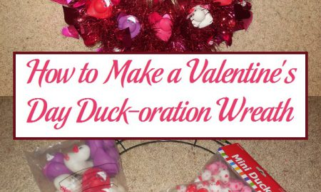 How to Make a Valentine's Day Duck-oration Wreath