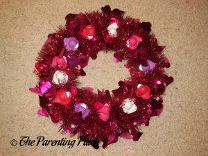 Valentine's Day Duck-oration Wreath