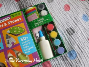 Craft Materials in 'Super Simple Crafts: Sticks and Stones'