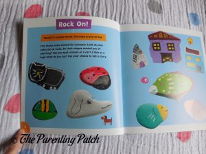 Inside Pages of 'Super Simple Crafts: Sticks and Stones' 1