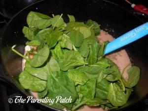 Baby Spinach for Rotisserie Chicken Tortellini Soup