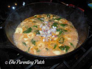 Shallots for Rotisserie Chicken Tortellini Soup