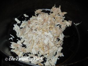 Shredded Chicken for Rotisserie Chicken Tortellini Soup
