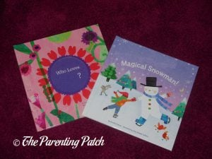'My Magical Snowman' and 'Who Loves Me?' Valentine Edition Storybook and Stickers Gift Set from I See Me!