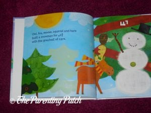 Inside Pages of 'My Magical Snowman' from I See Me! 1
