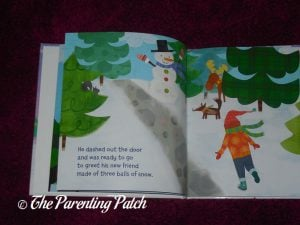 Inside Pages of 'My Magical Snowman' from I See Me! 2