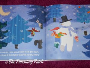 Inside Pages of 'My Magical Snowman' from I See Me! 3
