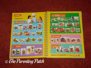 Inside Pages of 'Do It Myself Kids Cookbook' from PBS Kids 1