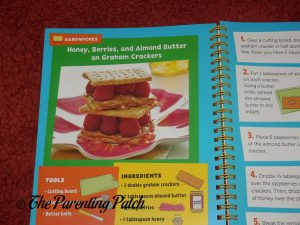 Inside Pages of 'Do It Myself Kids Cookbook' from PBS Kids 2