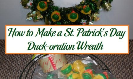 How to Make a St. Patrick's Day Duck-oration Wreath