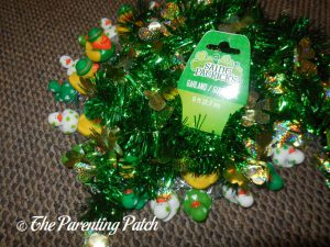 Garland for the St. Patrick's Day Duck-oration Wreath