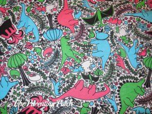 "Dinosaur Print of Princess Awesome ""She-Rex"" Dinosaurs Play Dress"