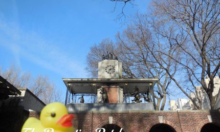The Duck and the Delacorte Clock