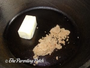 Butter and Brown Sugar for Slow Cooker French Onion Soup