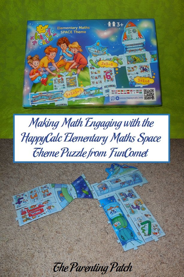 Making Math Engaging with the HappyCalc Elementary Maths Space Theme Puzzle from FunComet