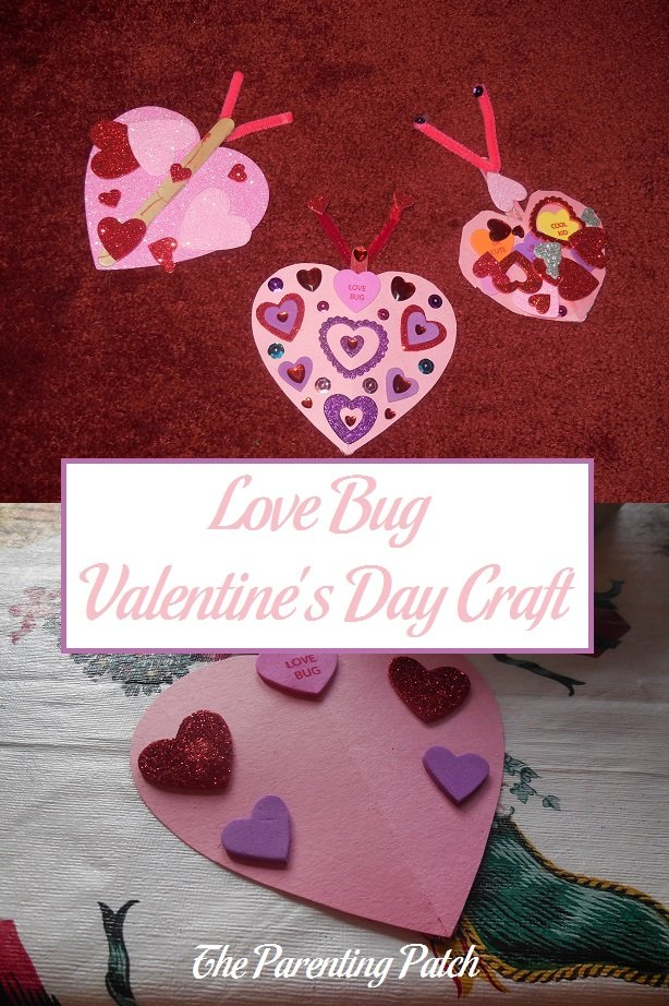 Love Bug Valentine's Day Craft
