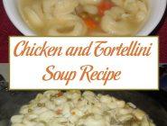 Chicken and Tortellini Soup Recipe