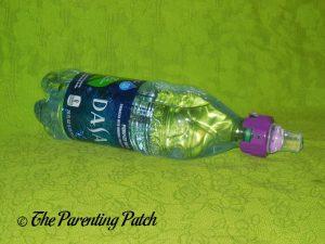 Purple Panda SippyNipple on Dasani Bottle 2