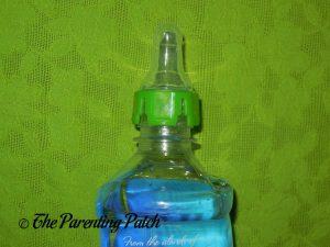 Green Lion SippyNipple on Fiji Bottle 1