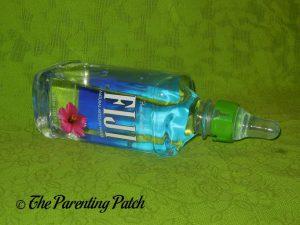 Green Lion SippyNipple on Fiji Bottle 2
