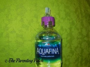 Purple Panda SippyNipple on Aquafina Bottle 1