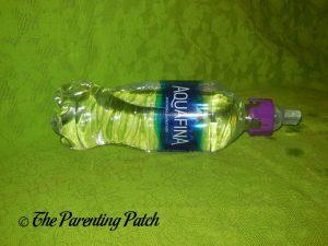 Purple Panda SippyNipple on Aquafina Bottle 2