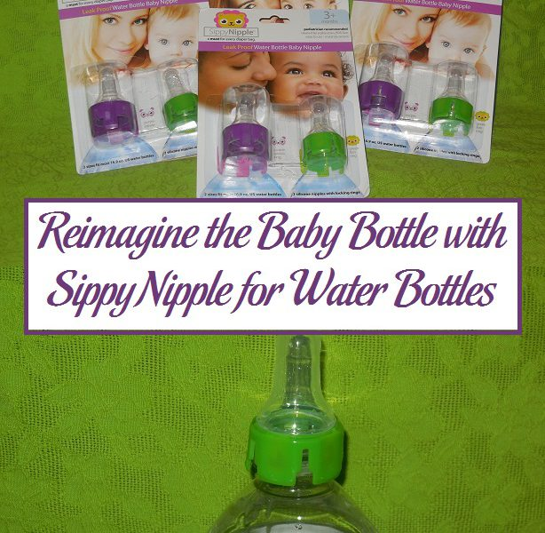 Reimagine The Baby Bottle With SippyNipple For Water