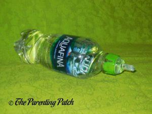 Green Lion SippyNipple on Aquafina Bottle 2
