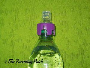 Purple Panda SippyNipple on Dasani Bottle 1