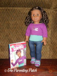 American Girl 2017 Girl of the Year Gabriela with Book