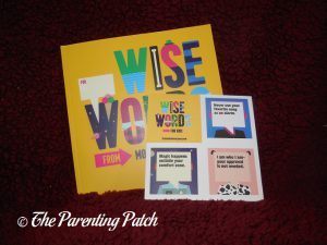 'Wise Words for Kids' with Stickers