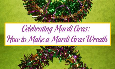 Celebrating Mardi Gras: How to Make a Mardi Gras Wreath