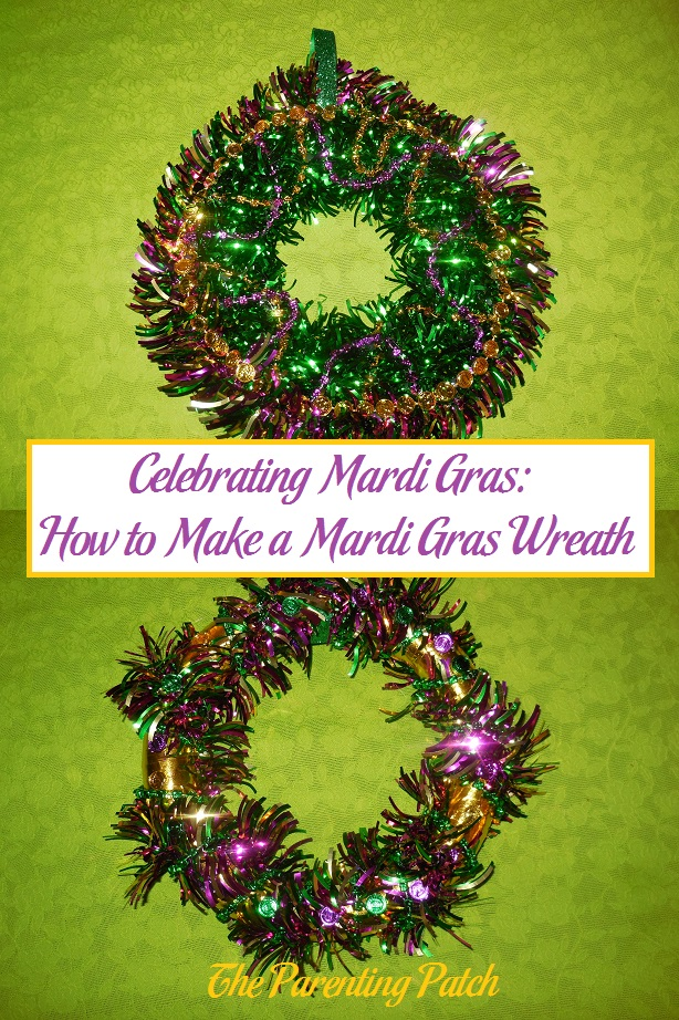 Celebrating Mardi Gras: How to Make a Mardi Gras Wreath