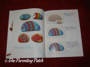 Inside Pages of 'The Art of Stone Painting: 30 Designs to Spark Your Creativity' 2