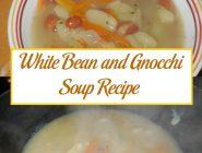 White Bean and Gnocchi Soup Recipe