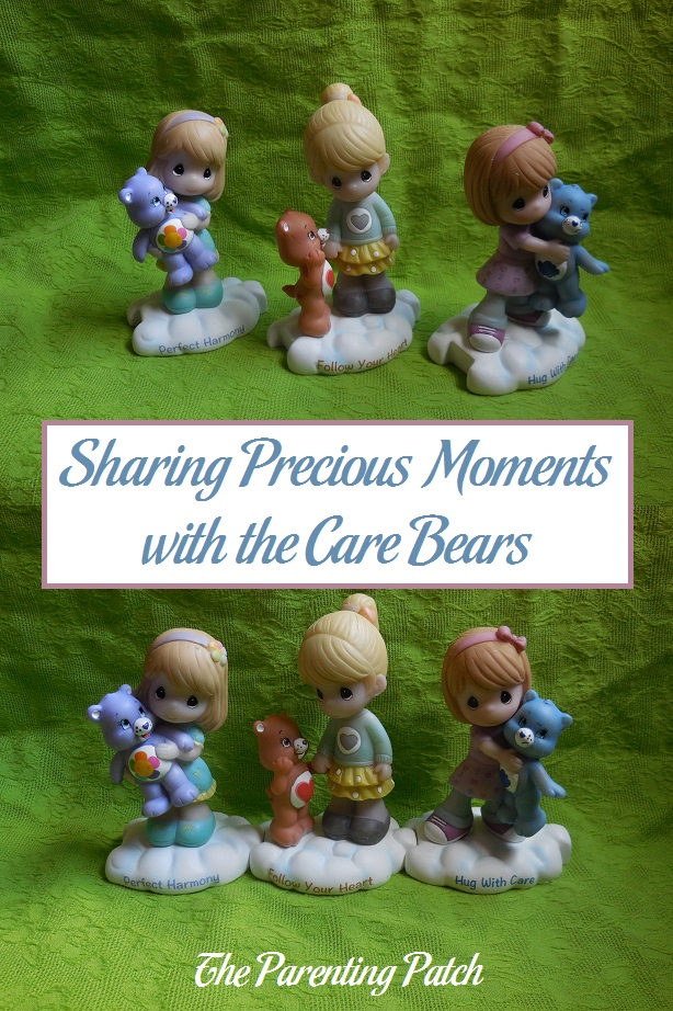 Sharing Precious Moments with the Care Bears
