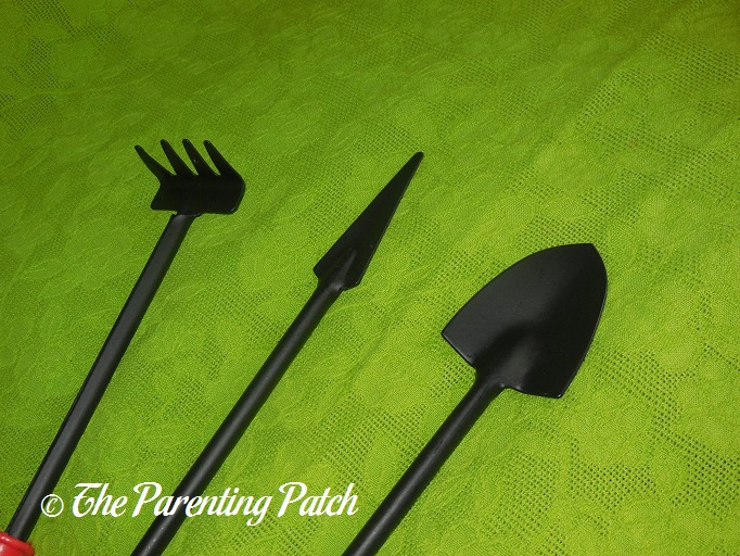 Solid g houseplant mini garden tools set review for Miniature garden tools
