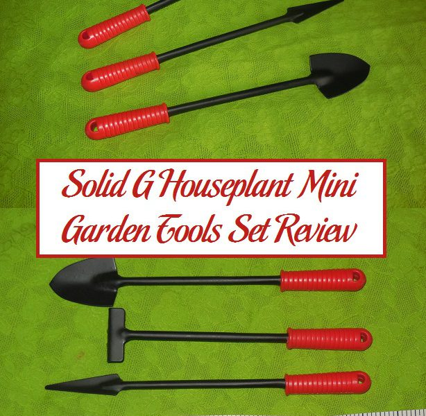 Solid g houseplant mini garden tools set review for Gardening tools reviews