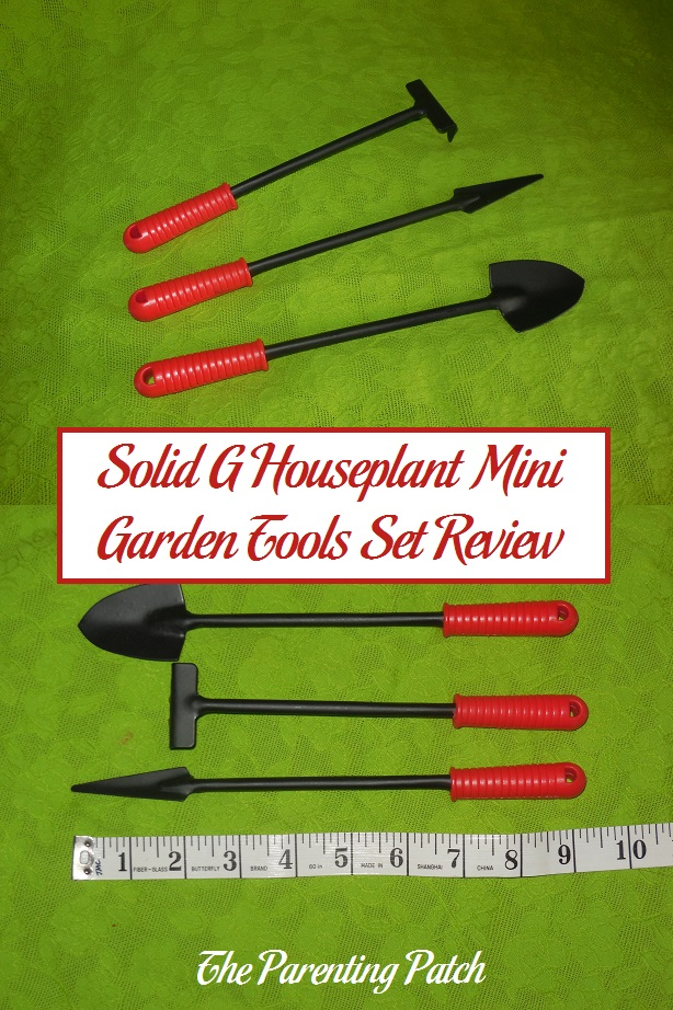 solid g houseplant mini garden tools set review parenting patch. Black Bedroom Furniture Sets. Home Design Ideas