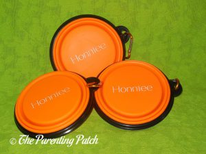Honniee Collapsible Dog Bowls 1