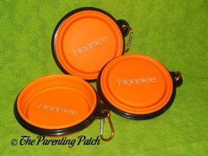 Honniee Collapsible Dog Bowls 2