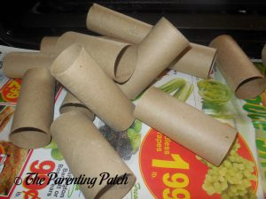Toilet Paper Rolls for the Toilet Paper Roll Leprechaun Hat Craft