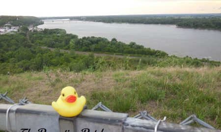 The Duck and Lover's Leap in Hannibal, Missouri