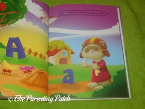 Inside Pages of 'I See Do You See? Alphabets' Personalized Book from KD Novelties 2