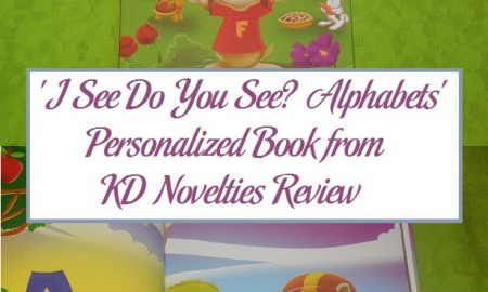 'I See Do You See? Alphabets' Personalized Book from KD Novelties Review