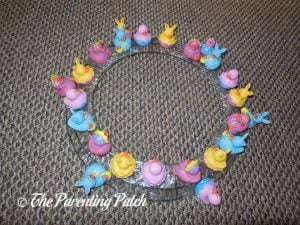 Easter Ducks on Wire Wreath