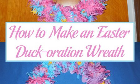 How to Make an Easter Duck-oration Wreath