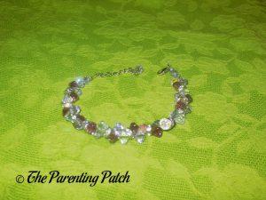 Jeulia Amazing Water Drop Created Amethyst Bracelet