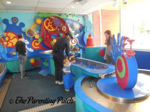 Water Table at Brooklyn Children's Museum